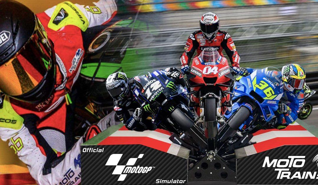Moto Trainer Motorbike Simulator Brings MotoGP To Your Living Room